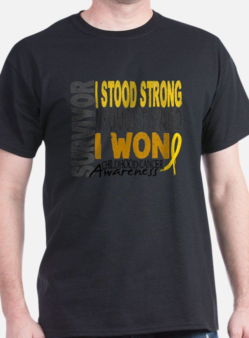 Survivor 4 Childhood Cancer Shirts and Gifts T-Shi