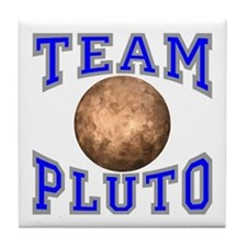 Team Pluto II Tile Coaster
