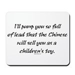 Lead Chinese Toys Mousepad