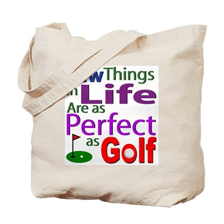 Perfect Golf Shirts and Gifts Tote Bag