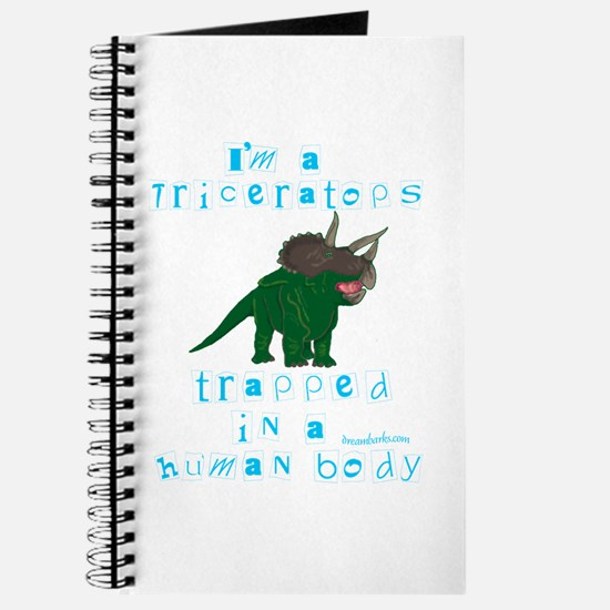 I'm a Triceratops Journal