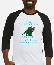 I'm a Triceratops Baseball Jersey