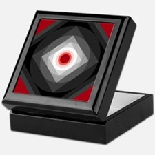 Red/Black Keepsake Box