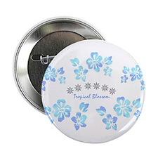 """Tropical blossom 2.25"""" Button"""