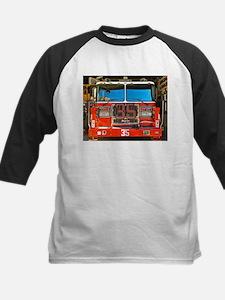 Big Red Fire Truck (II) Baseball Jersey