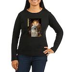 Queen / Gr Pyrenees #3 Women's Long Sleeve Dark T-