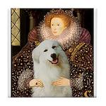 Queen / Gr Pyrenees #3 Tile Coaster