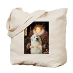 Queen / Gr Pyrenees #3 Tote Bag