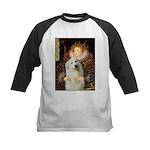 Queen / Gr Pyrenees #3 Kids Baseball Jersey