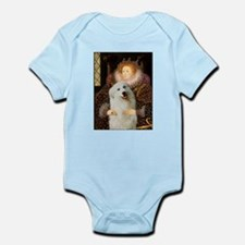 Queen / Gr Pyrenees #3 Infant Bodysuit