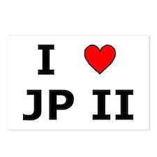I Love JPII Postcards (Package of 8)