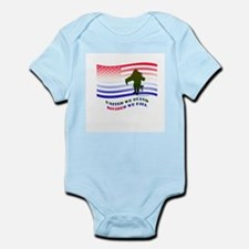 UNITED WE STAND DIVIDED WE FALL Infant Bodysuit