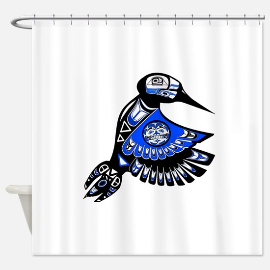 TRIBUTE Shower Curtain