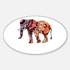 Colorful Elephant Decal