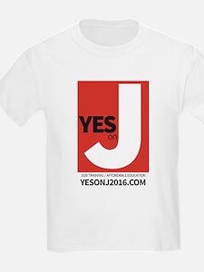 Yes on J t-shirt design T-Shirt