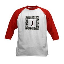 Zebra Monogram J Tee