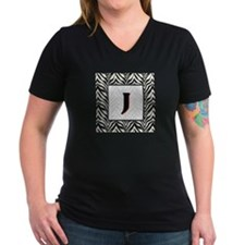 Zebra Monogram J Shirt