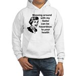Messing Around Navy Sailor Hooded Sweatshirt