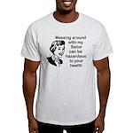 Messing Around Navy Sailor Light T-Shirt