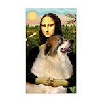 Mona / Gr Pyrenees Sticker (Rectangle)
