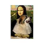 Mona / Gr Pyrenees Rectangle Magnet (10 pack)