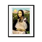 Mona / Gr Pyrenees Framed Panel Print