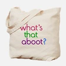 Aboot Tote Bag