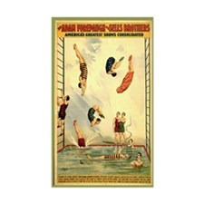 Troupe of Pearl Divers Rectangle Decal