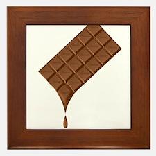 Chocolate Bar Melting Framed Tile