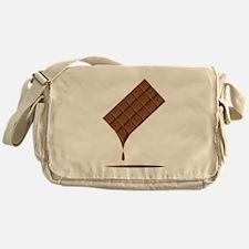 Chocolate Bar Melting Messenger Bag