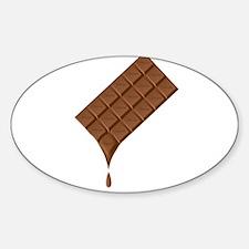 Chocolate Bar Melting Decal