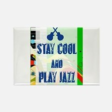 Stay Cool Play Jazz Magnets