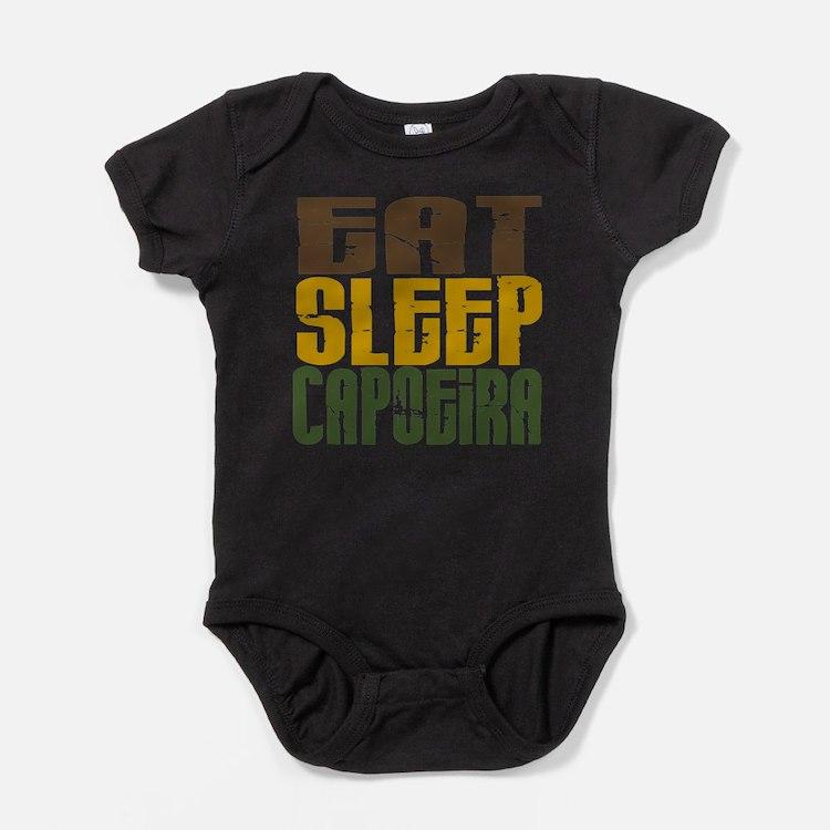 Cute Capoiera Baby Bodysuit