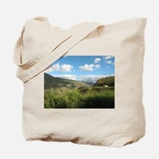 Yellow House in the Andes Tote Bag