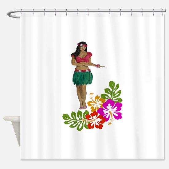 ISLANDER Shower Curtain