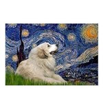 Starry / Gr Pyrenees Postcards (Package of 8)