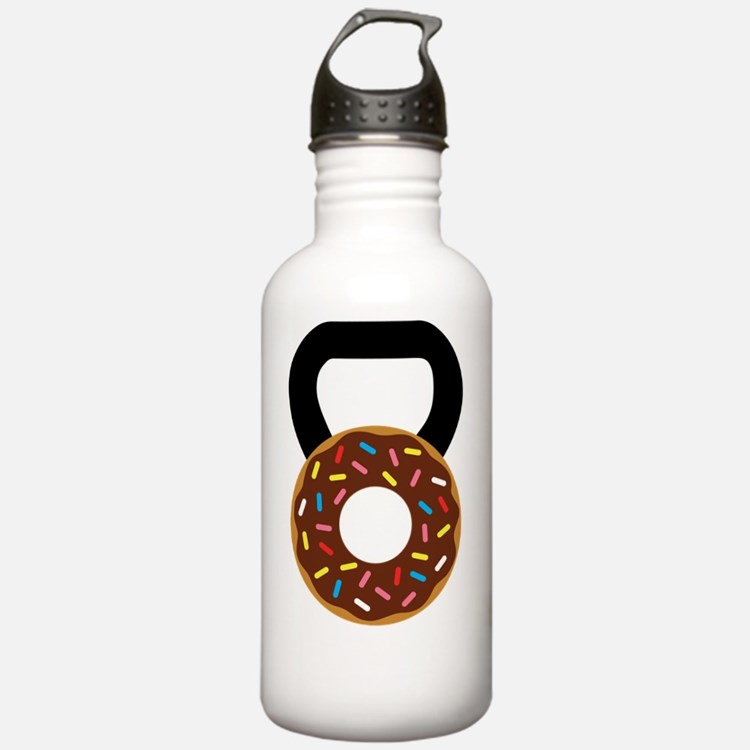 Cute Donut and running Water Bottle