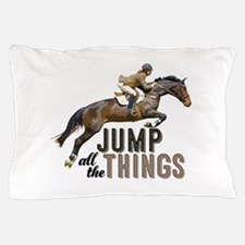 Cute Foxhunting Pillow Case