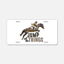 Funny Eventing Aluminum License Plate