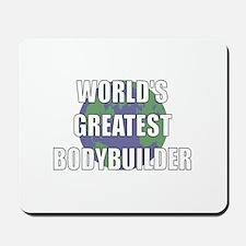 World's Greatest Bodybuilder Mousepad