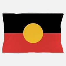 Australian Aboriginal Flag Pillow Case