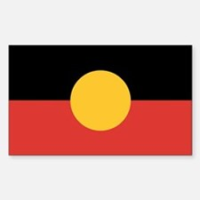 Australian Aboriginal Flag Decal
