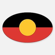 Australian Aboriginal Flag Stickers