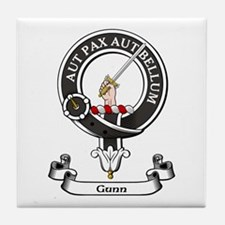 Badge - Gunn Tile Coaster