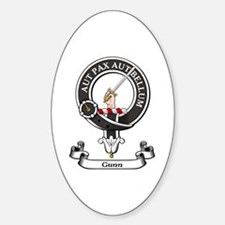 Badge - Gunn Sticker (Oval)