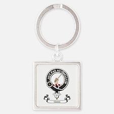 Badge - Gunn Square Keychain