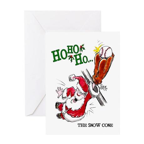 Baseball Mojo Holiday Greeting Card
