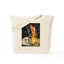 Fairies / Gr Pyrenees Tote Bag