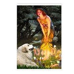 Fairies / Gr Pyrenees Postcards (Package of 8)