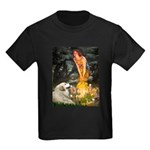 Fairies / Gr Pyrenees Kids Dark T-Shirt